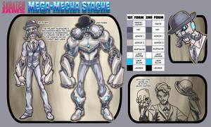 Mega Mecha Stache by FooRay
