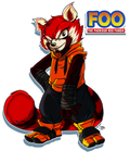 Foo The Parkour Red Panda by FooRay