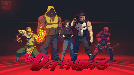 The Defenders: the animated series by FooRay