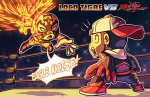 Loco Tigre vs The Reaper by FooRay
