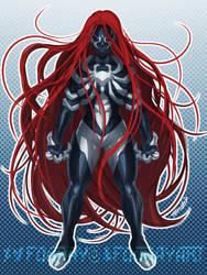 Symbiote Scarlet-MJ by FooRay