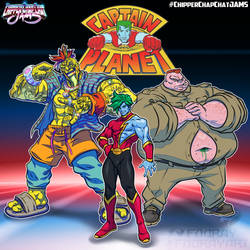 CCC-jams 90s reboot  Captain Planet by FooRay