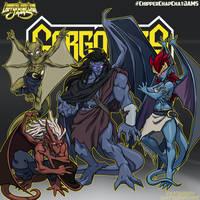 CCC-jams 90s reboot  Gargoyles by FooRay