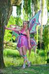 Flora Enchantix power by Giorgiacosplay