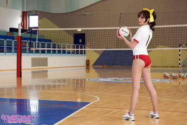 Volleyball champion by Giorgiacosplay