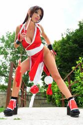 Mai Shiranui sexy fighter by Giorgiacosplay
