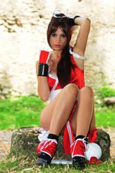 Mai like a model by Giorgiacosplay