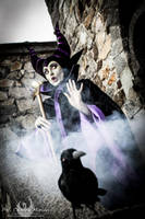 Nobody has invited Maleficent at the ball? by Giorgiacosplay