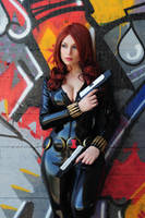 Black Widow or Natasha Romanoff (Yamshita version) by Giorgiacosplay