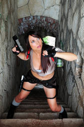 Tomb Rider Lara Croft Legend by Giorgiacosplay