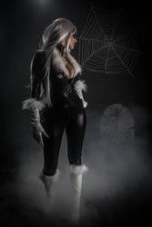 Black cat and peter parker by Giorgiacosplay