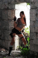 Lara Croft Legend Tomb raider by Giorgiacosplay