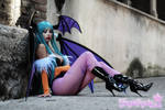 Morrigan Vampire Savior Darkstalkers by Giorgiacosplay