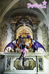 Morrigan the Succubus Queen by Giorgiacosplay