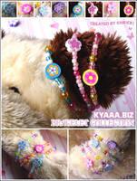 kyaaa.biz Bracelet Collection by shiricki