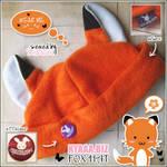 Fox Hat - Kitsune Hat by shiricki