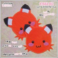 kyaaa.biz Cute Fox Patch by shiricki