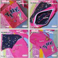 Tinkerbell Bag Pink Flowers by shiricki