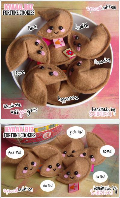 kyaaa.biz Fortune Cookies by shiricki