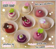 kyaaa.biz Cozy Soap 8 Flavours by shiricki
