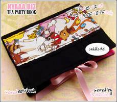 Cozy Book - Tea Party by shiricki