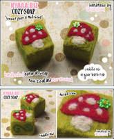 kyaaa.biz Cozy Soap Mushroom by shiricki