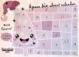 kyaaa.biz Advent Calendar by shiricki