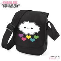 kyaaa.biz - Rainbow cloud Shoulder Bag by shiricki