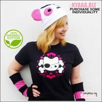 kyaaa.biz - Organic Shirt - Pirate Cat by shiricki