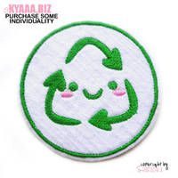 Patch - Cute Recycle by shiricki