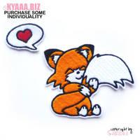 Patch - Cuddle Fox by shiricki