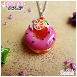 Necklace - Yummie Donut by shiricki