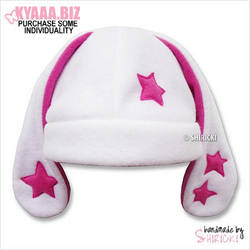 Hat - Bunny with Stars by shiricki