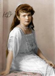 Anastasia, 1914 Formal. by Hattie-James