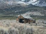 Old building, Cherry Creek, Nevada by Raptorguy14