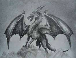 Dragon by MartyDeath