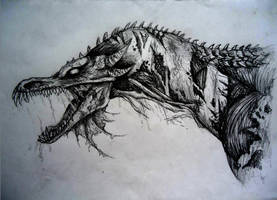 Corpse Dragon by MartyDeath