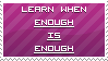 Enough is Enough STAMP by OpinionatedGhost