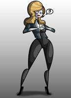 3- Black Canary by kungfumonkey