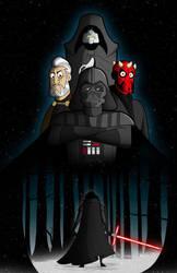 The Dark Side by kungfumonkey
