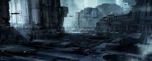 City block by MatLatArt