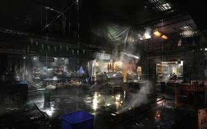 DXMD - Golem City Market by MatLatArt