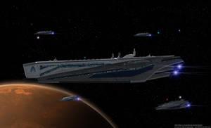 Alliance Carrier SSV Hawking by reis1989