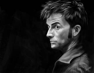 10th Doctor by marikots