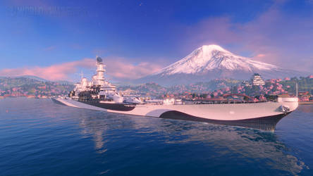 World of Warships: USS Missouri BB-63 by PH-PennySnowFlyer