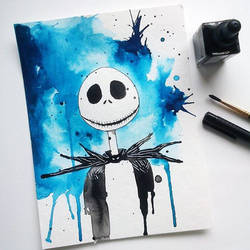 Jack Skellington by excentric
