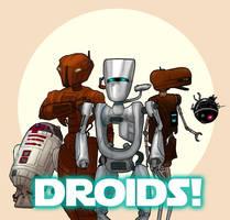 Droid Heroes by Ryan-Rhodes