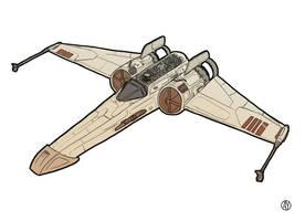 X-67 Starfighter by Ryan-Rhodes