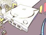 Sega Dreamcast Console by Nammi-namm