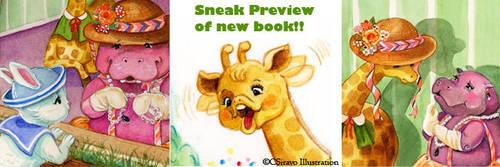 Sneak Peek from New Book by BlueBirdie